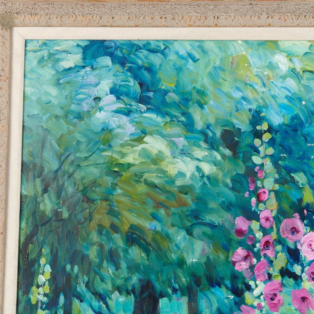 Malva, painting - 3