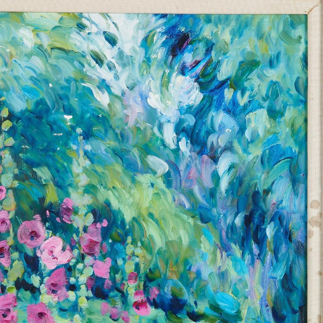 Malva, painting - 4