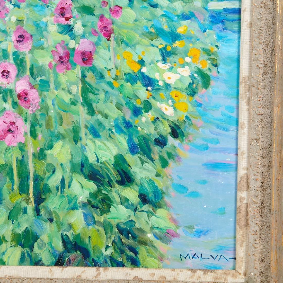 Malva, painting - 5