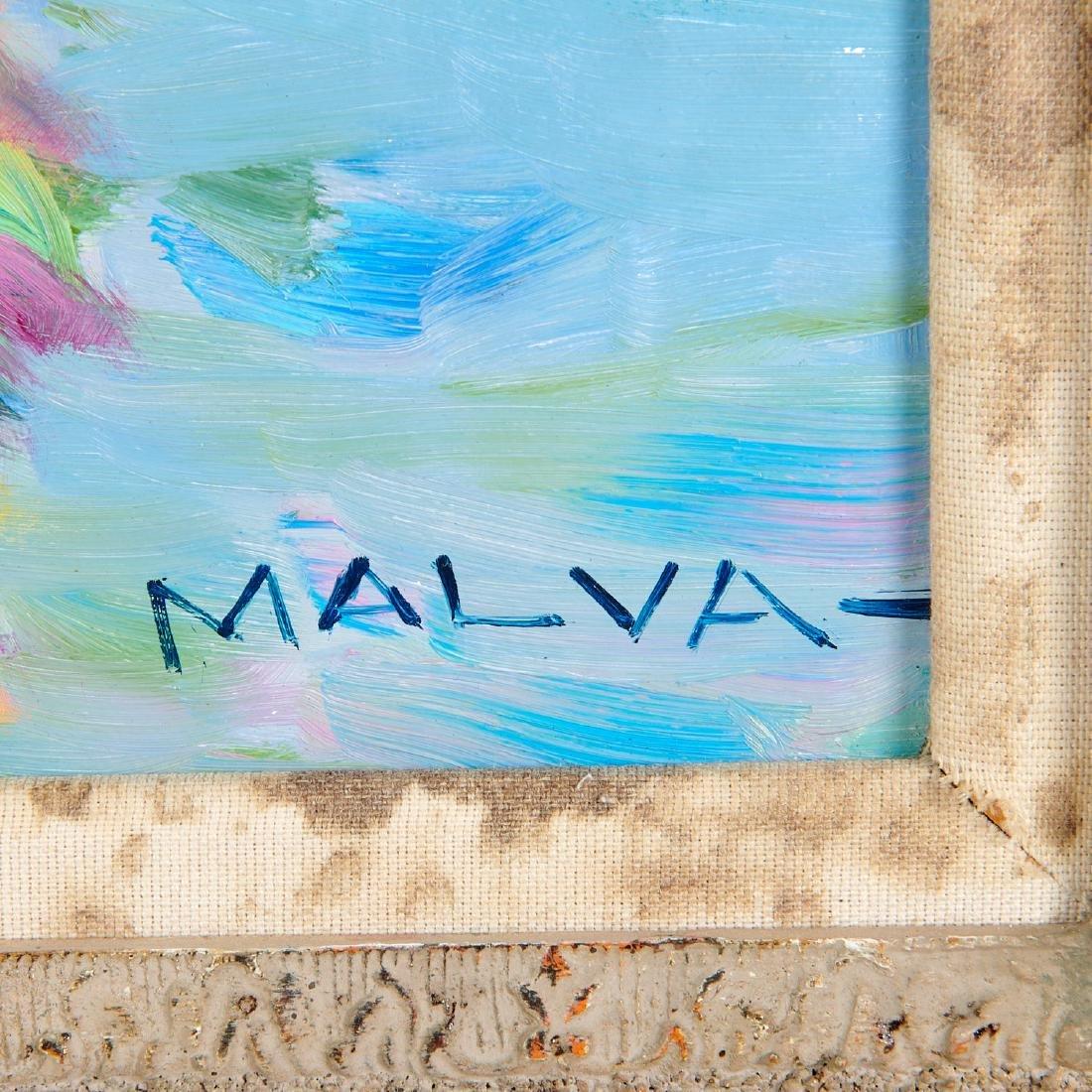 Malva, painting - 7