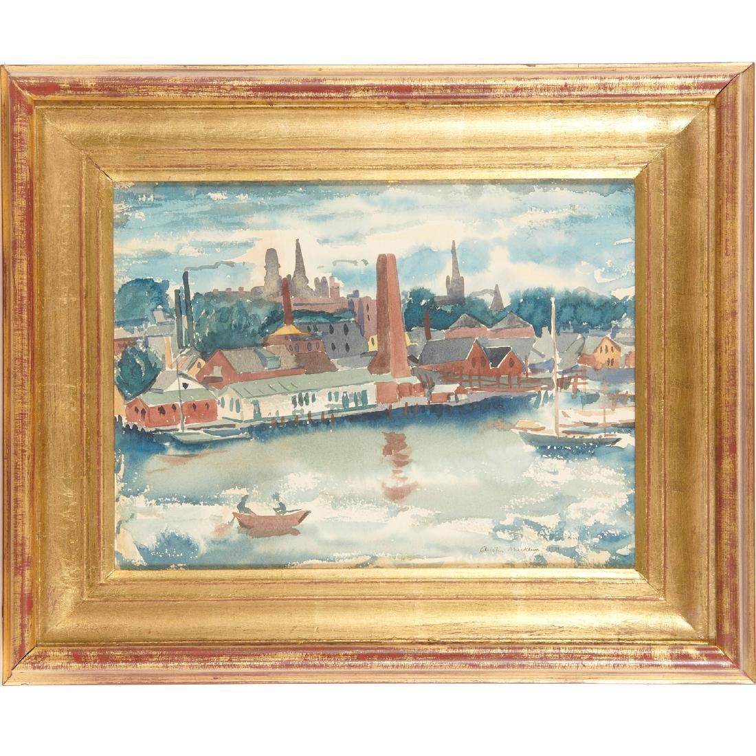 Austin Mecklem, painting, 1931