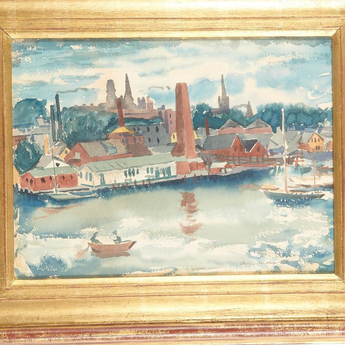 Austin Mecklem, painting, 1931 - 2