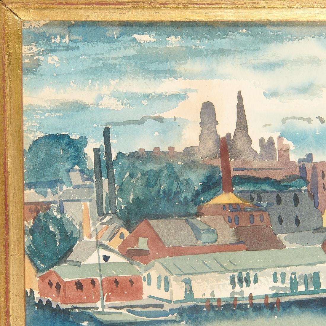 Austin Mecklem, painting, 1931 - 3