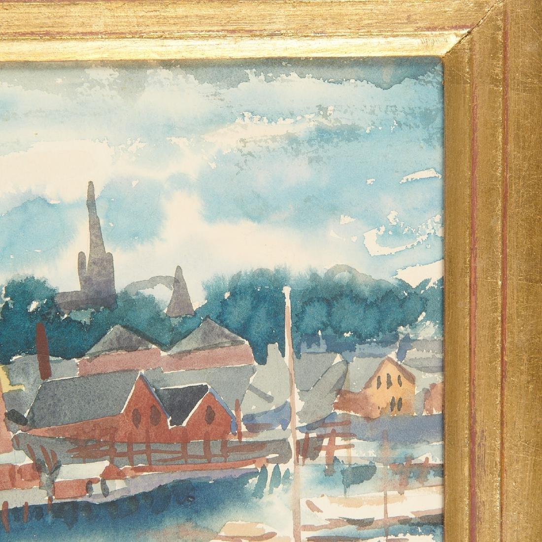 Austin Mecklem, painting, 1931 - 4