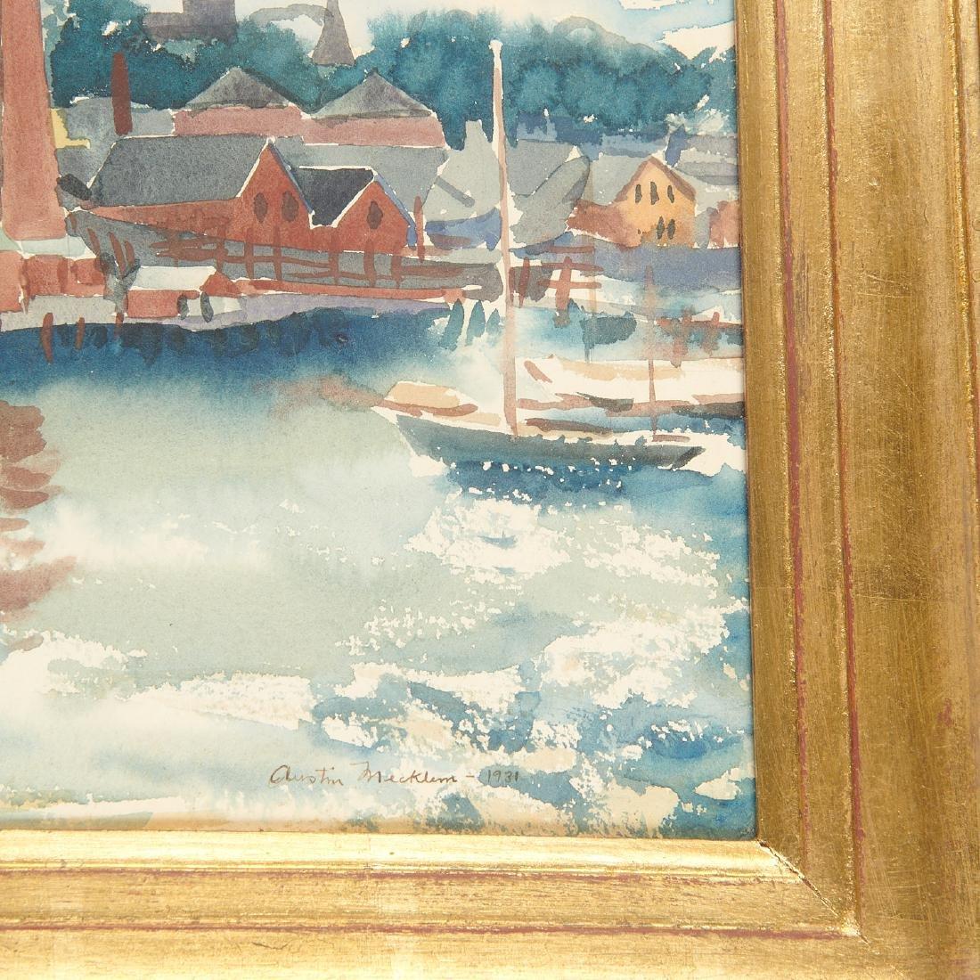 Austin Mecklem, painting, 1931 - 5