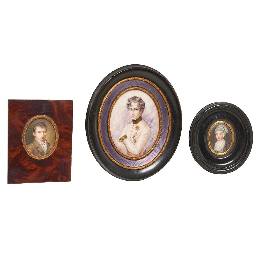Collection European miniature paintings and icon - 2