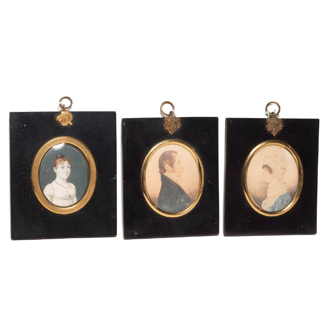 Collection European miniature paintings and icon - 3