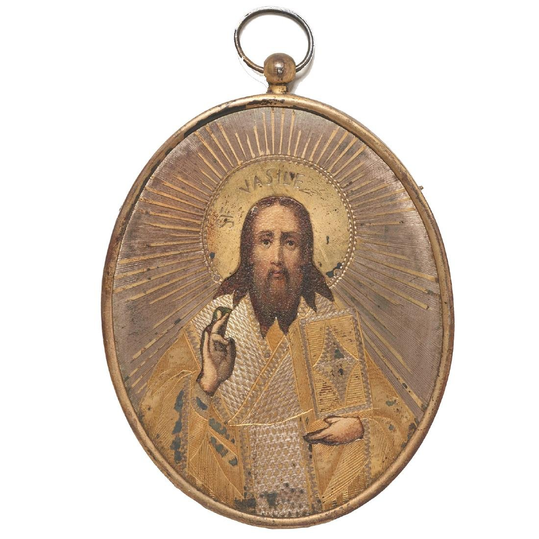 Collection European miniature paintings and icon - 9