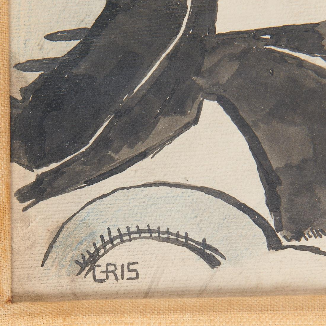 Juan Gris (attrib.), drawing - 7