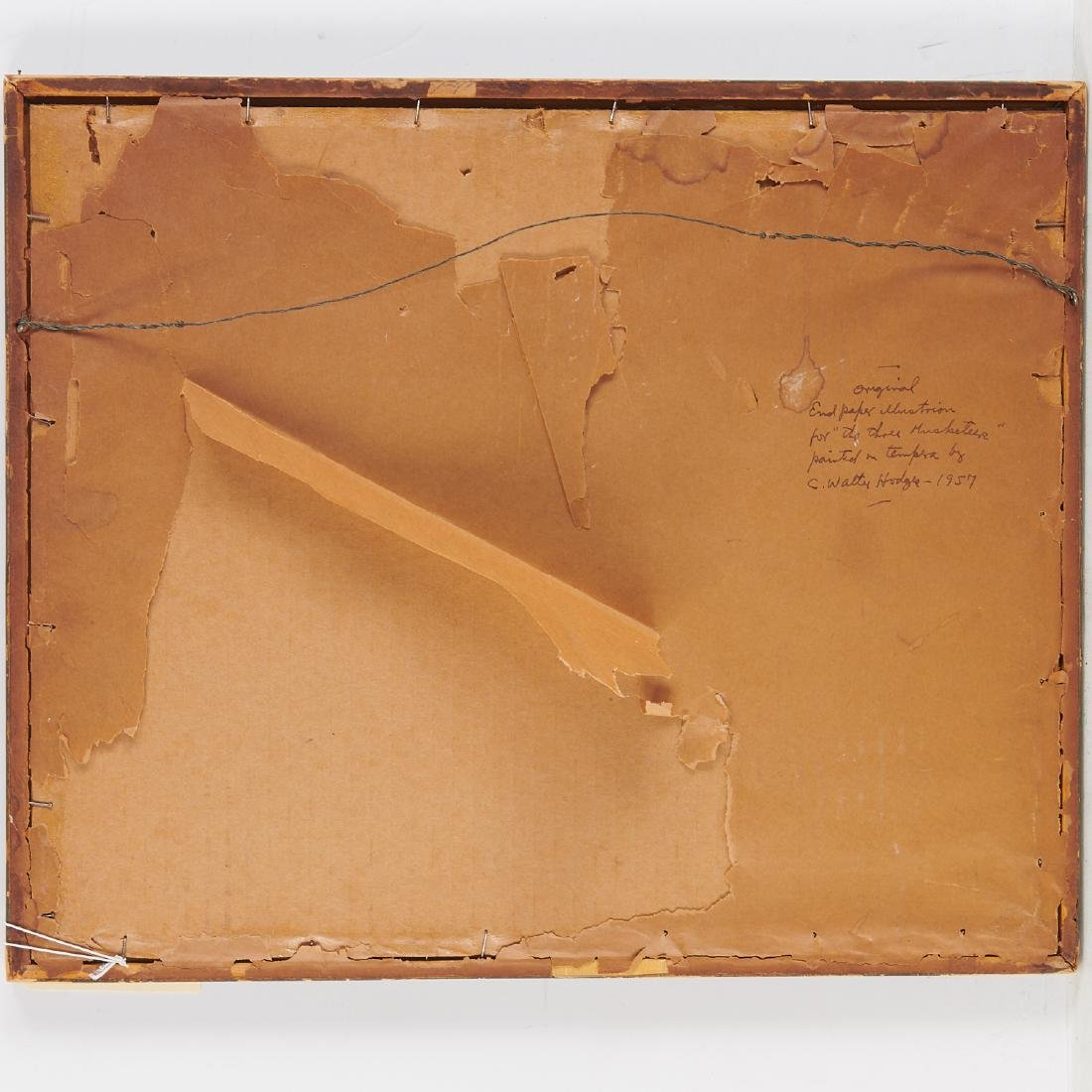 C. Walter Hodges, painting, 1957 - 8