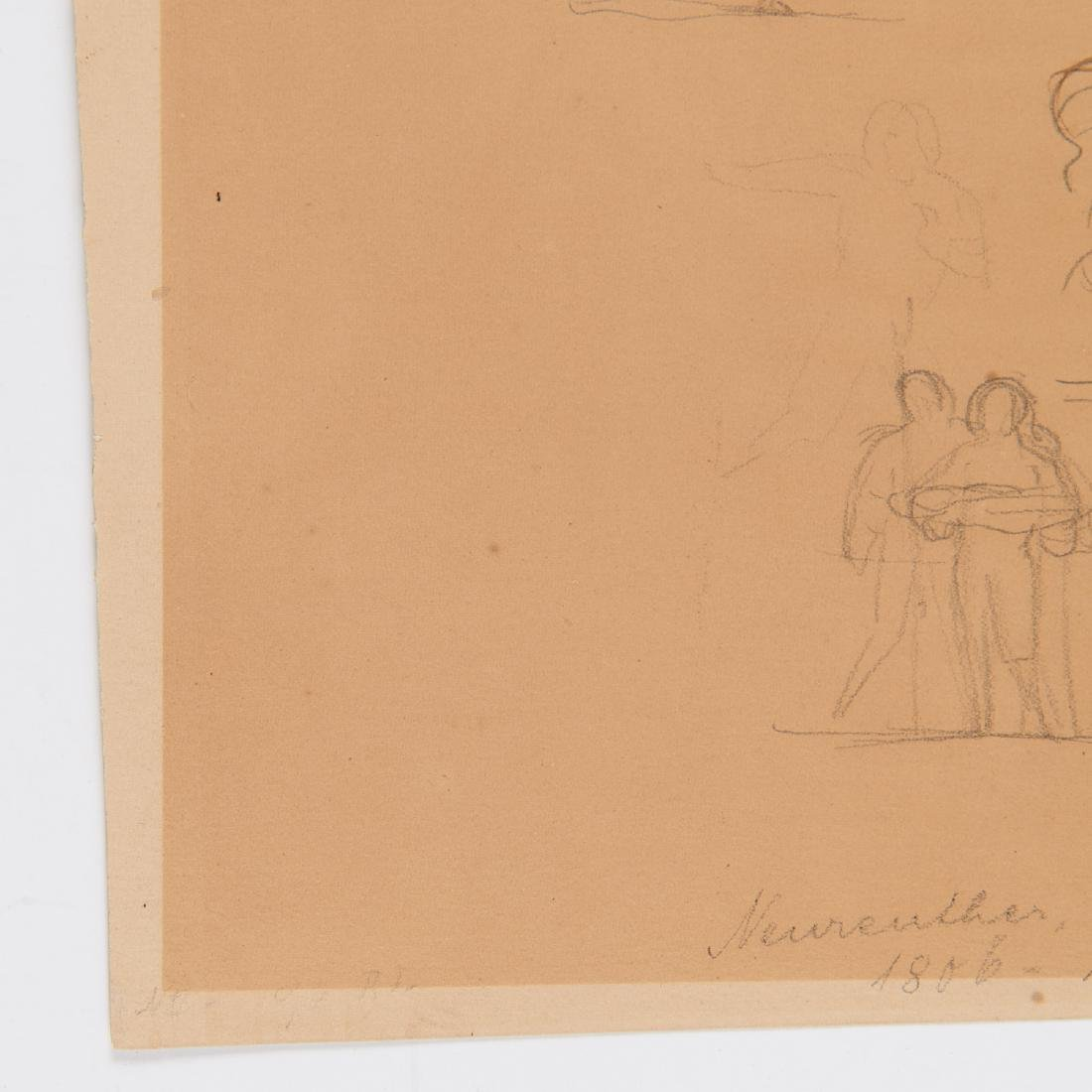 Eugen Neureuther, drawing, c. 1840 - 4