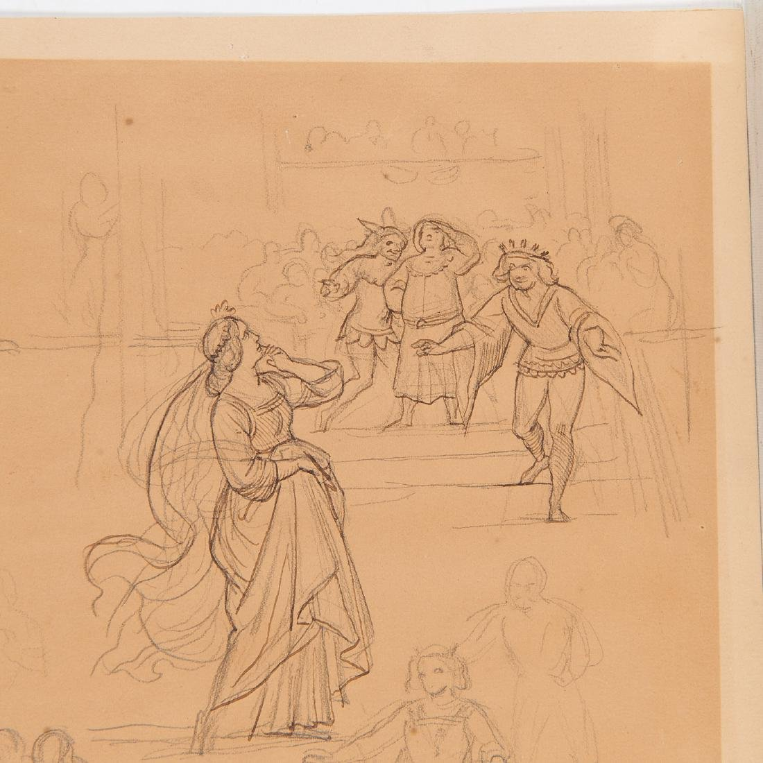 Eugen Neureuther, drawing, c. 1840 - 6