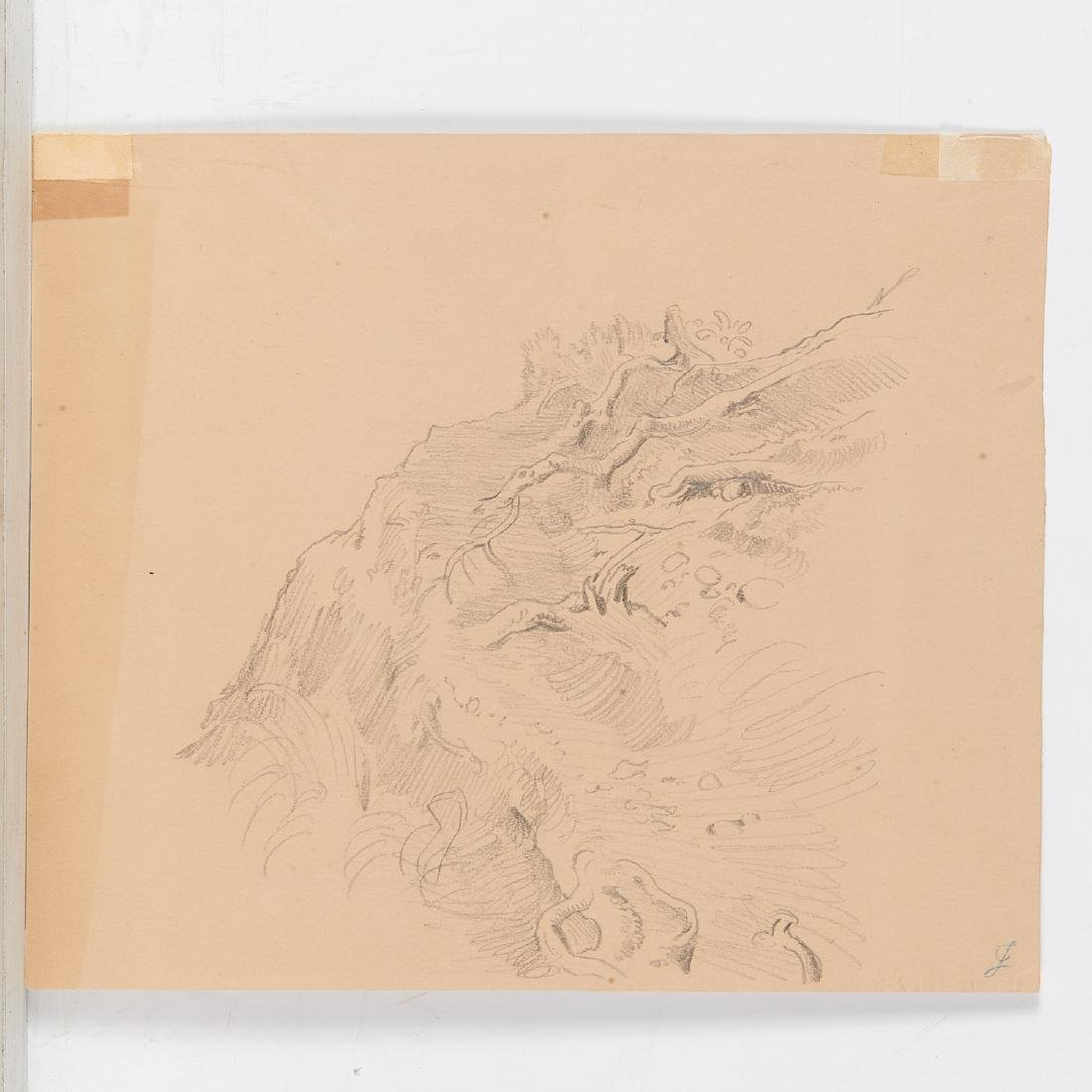 Eugen Neureuther, drawing, c. 1840 - 7