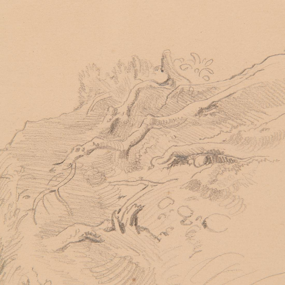 Eugen Neureuther, drawing, c. 1840 - 8