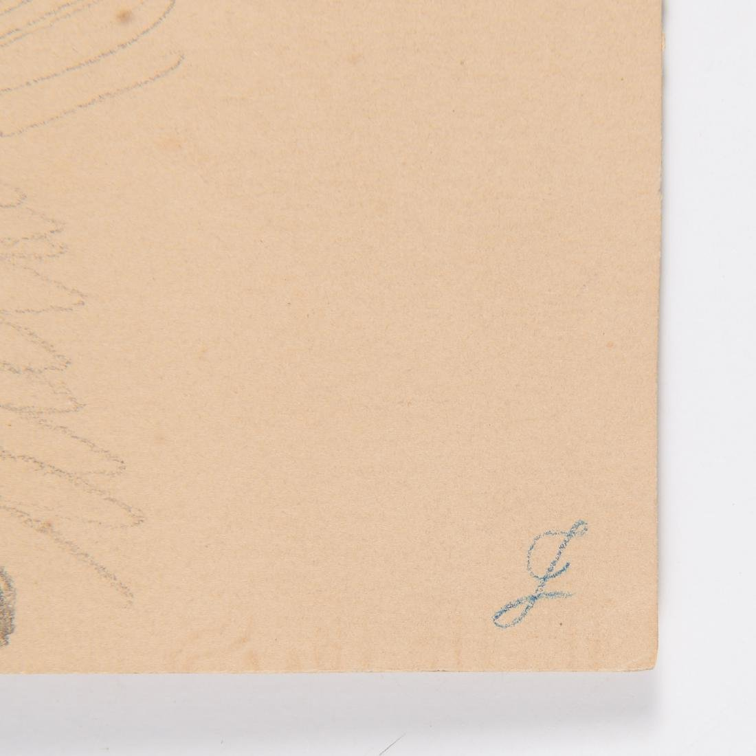 Eugen Neureuther, drawing, c. 1840 - 9