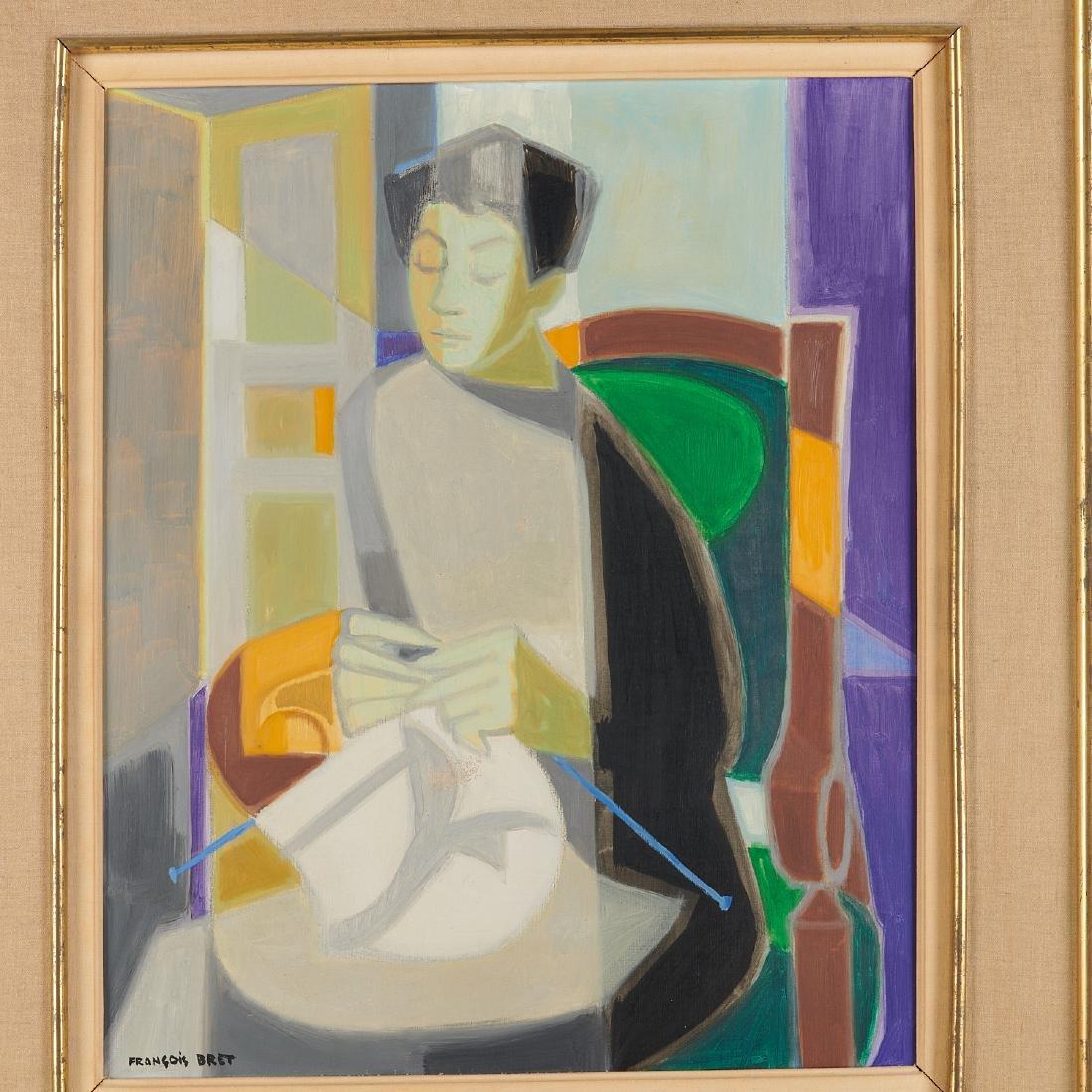 Francois Bret, painting, 1958 - 2