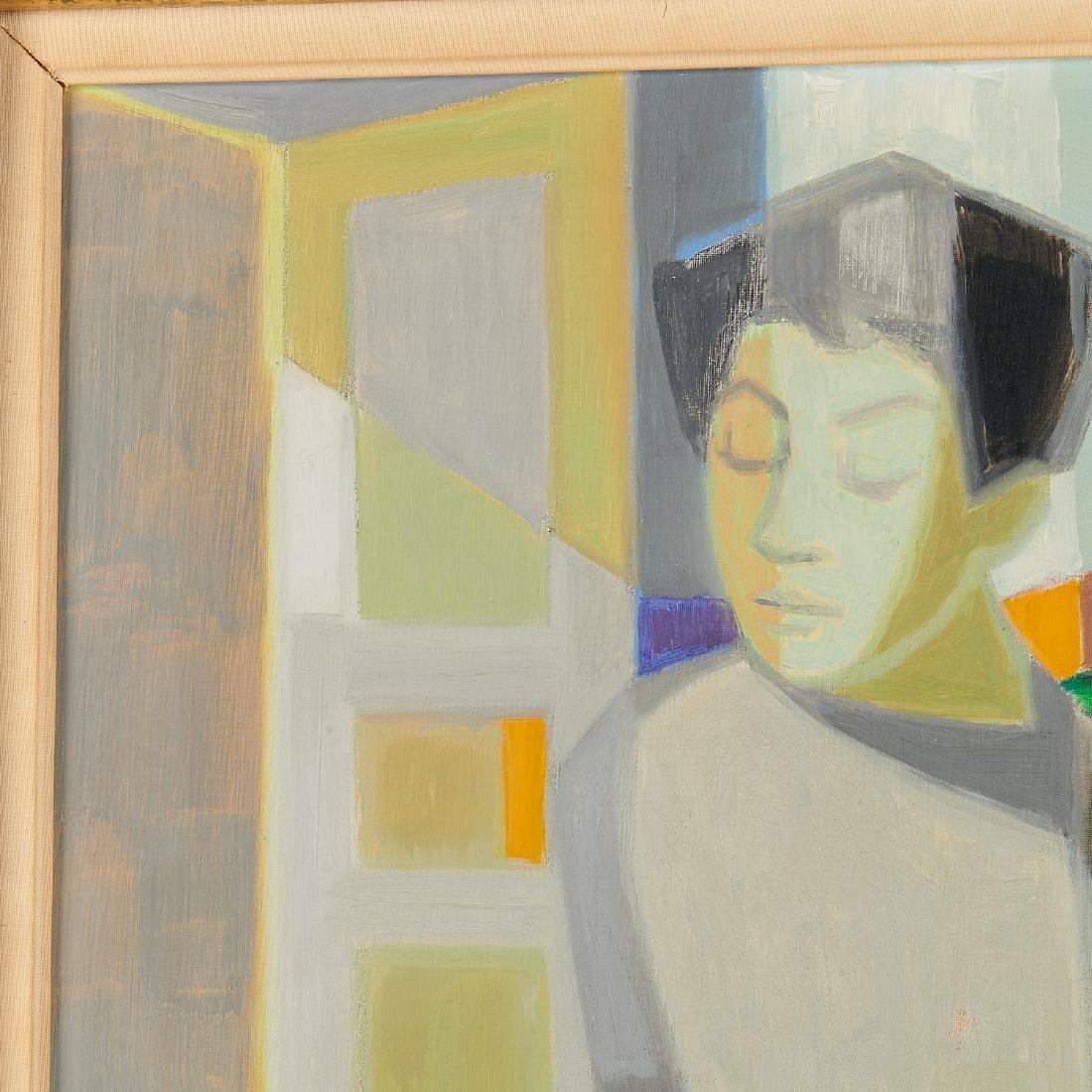 Francois Bret, painting, 1958 - 3