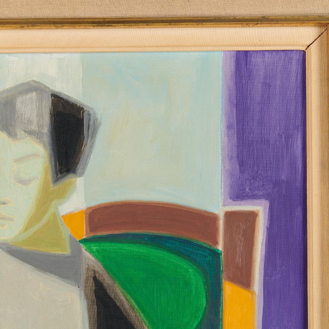 Francois Bret, painting, 1958 - 4