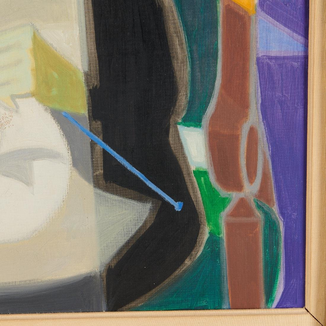 Francois Bret, painting, 1958 - 5