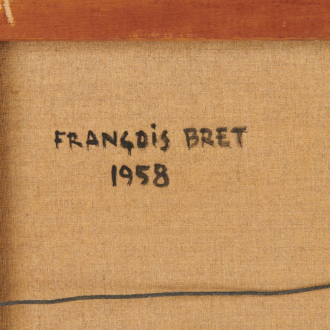 Francois Bret, painting, 1958 - 9