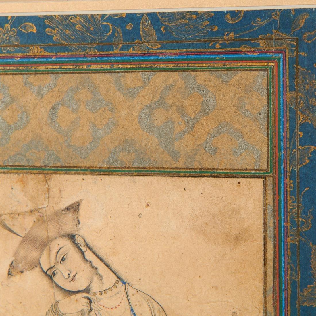 Mughal School, fine drawing - 4