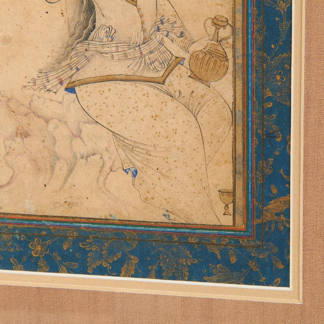 Mughal School, fine drawing - 5