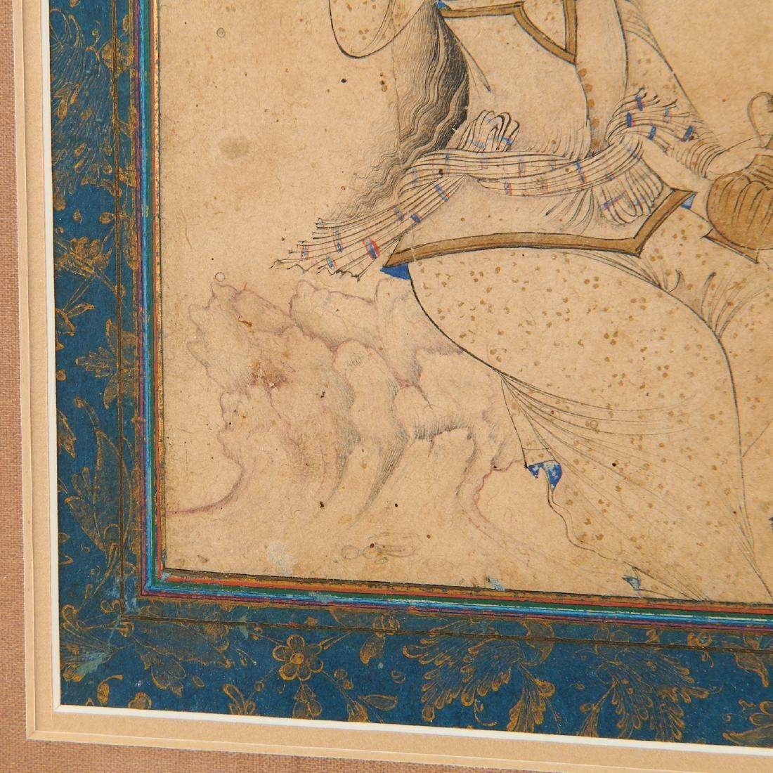 Mughal School, fine drawing - 6