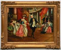 N. Henry Bingham, classical interior painting