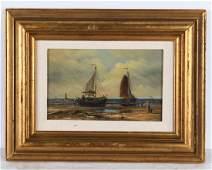 W. Frauenfelder, seascape painting
