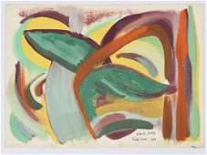 David Gibbs, painting, 1963