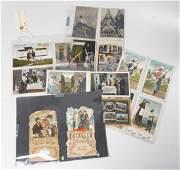 34 antique Yiddish  Hebrew postcards