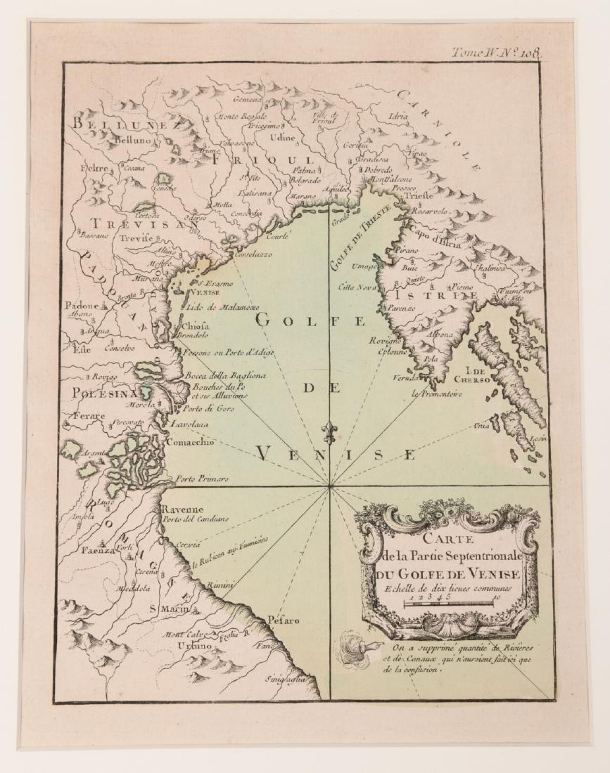 Bellin, Gulf of Venice & Istria map, 1764