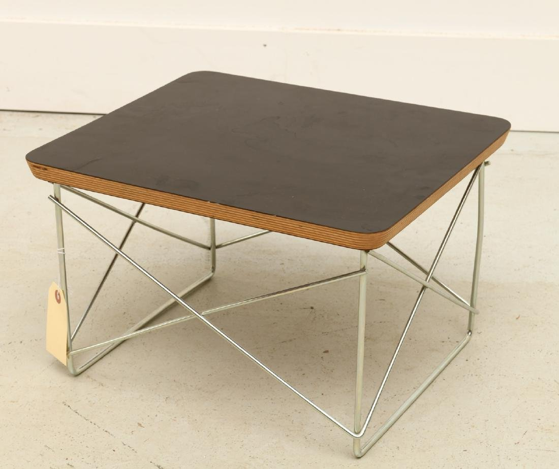 Eames for Herman Miller wire base low table