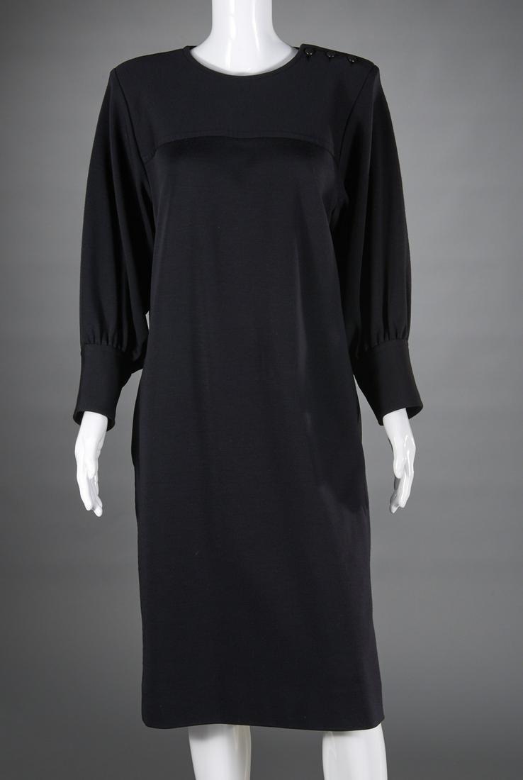 Vintage Yves Saint Laurent black chemise