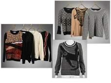Group of Sonia Rykiel vintage sweaters