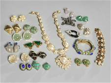 Group of Kenneth Lane costume jewelry