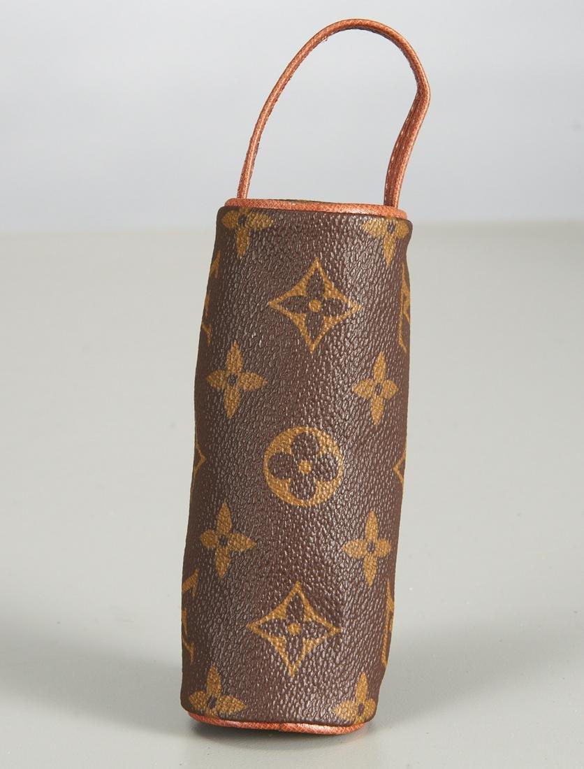 Louis Vuitton monogram mini cylinder pouch