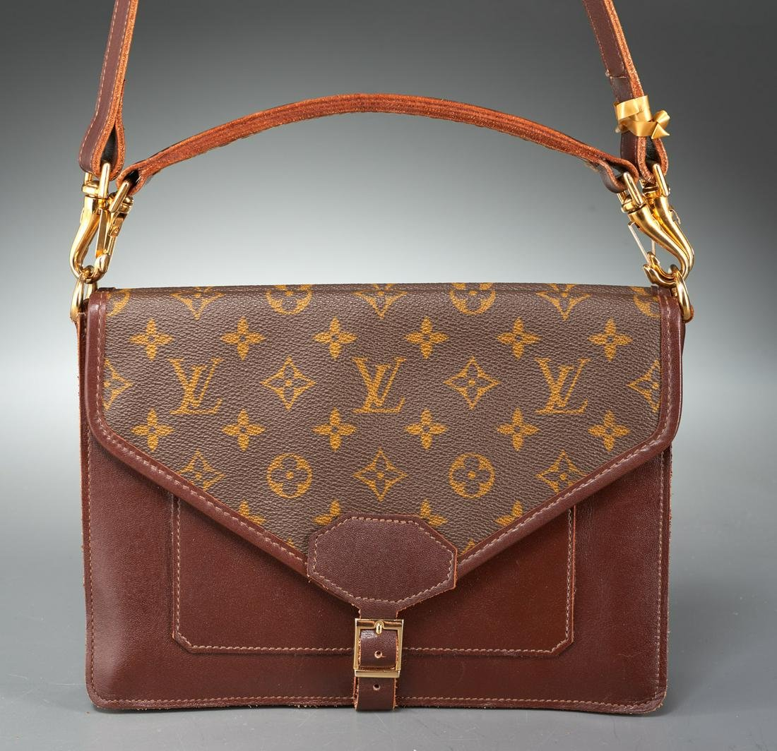 Vintage Louis Vuitton monogram canvas handbag
