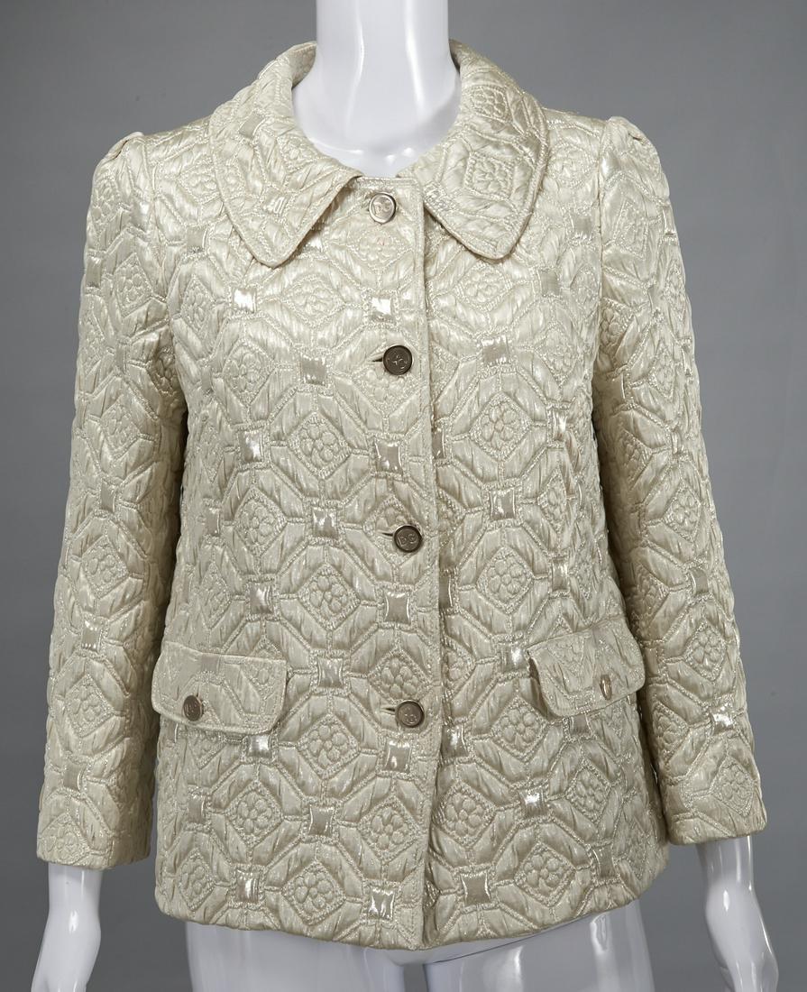 Dolce & Gabbana metallic brocade jacket