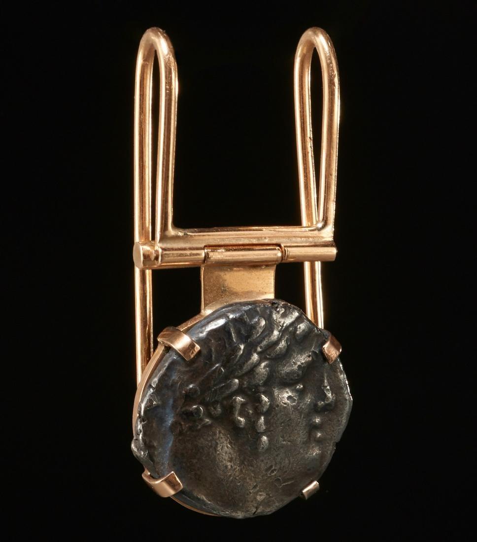 Phoenician 1st century AD silver shekel money clip