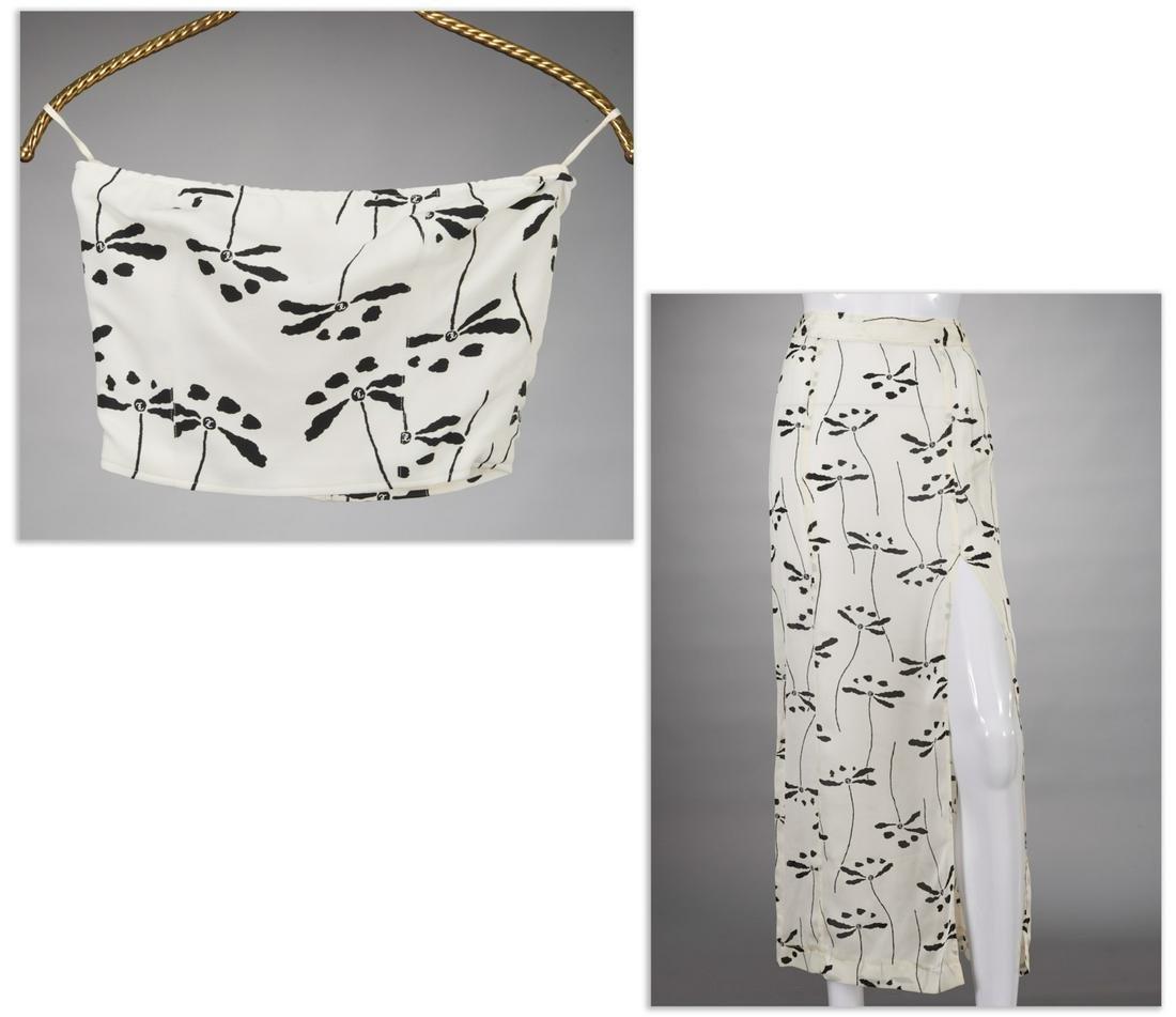 Chanel Boutique skirt and bandeau ensemble