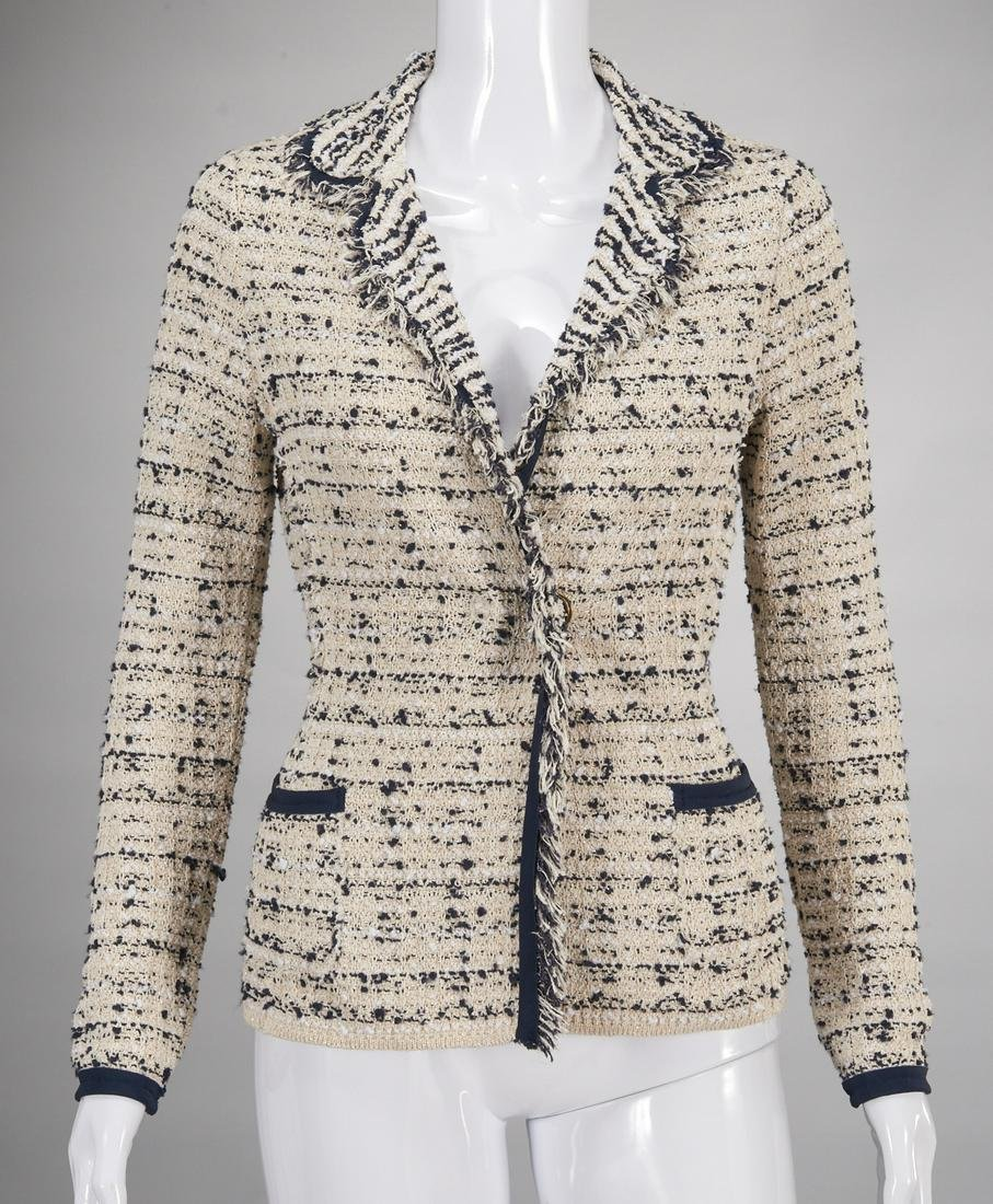 Bruno Manetti fringed and embellished jacket