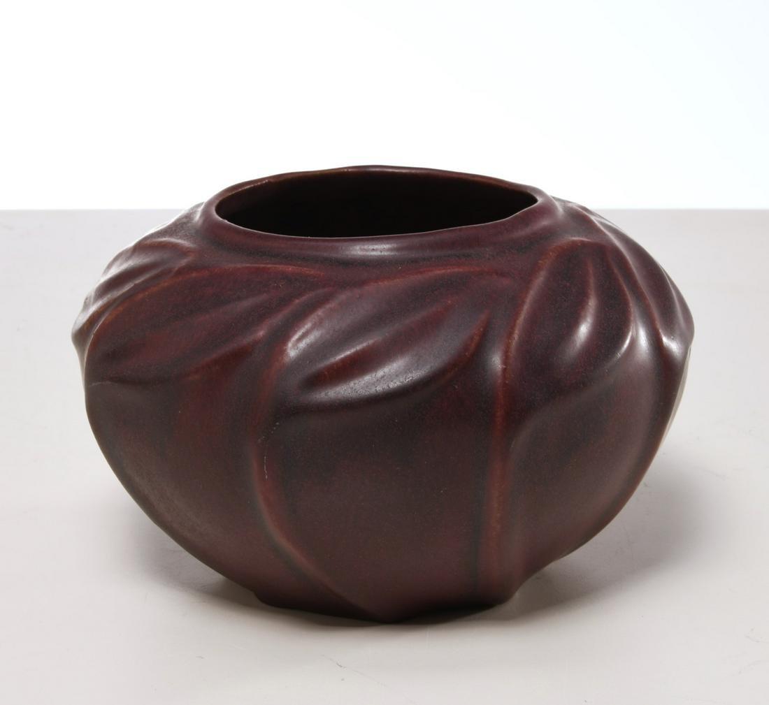 Van Briggle mulberry art pottery vase