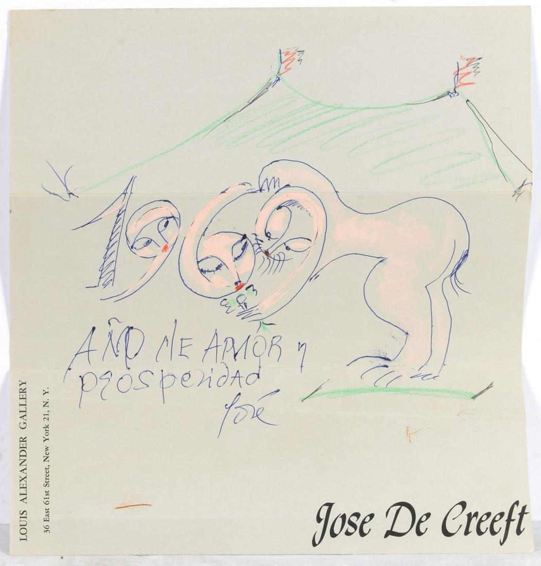Jose de Creeft, sketch