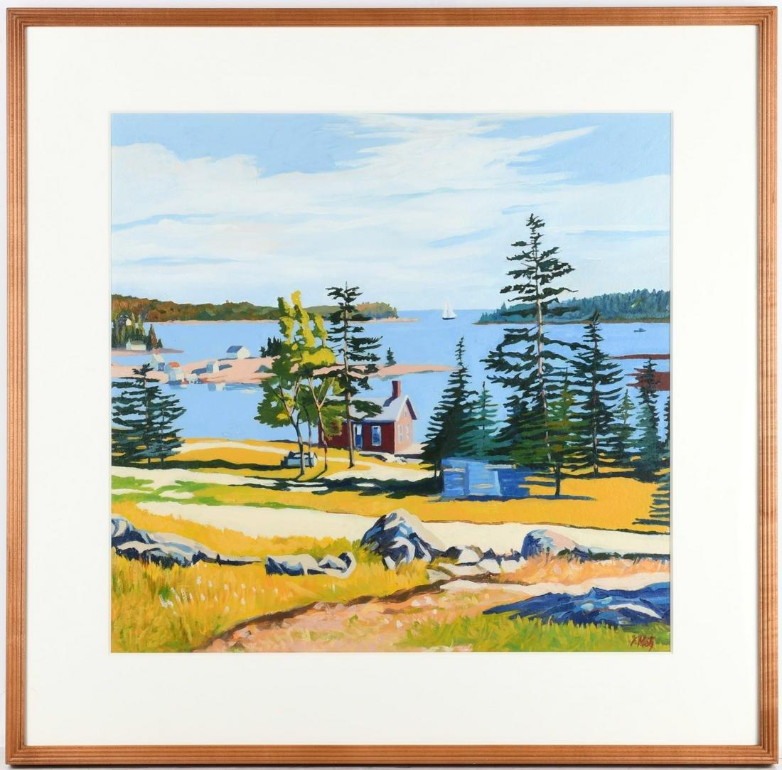 Frank Metz, painting