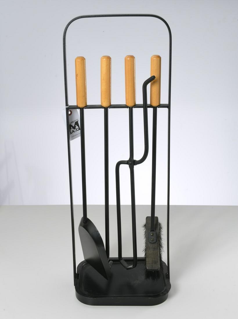 Austrian Modern fire tool set