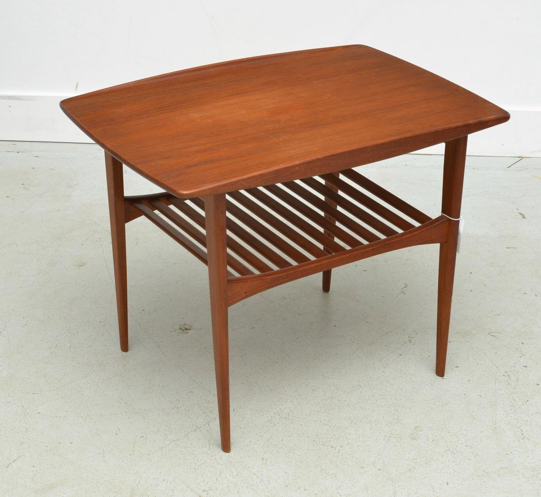 Tove & Edvard Kindt-Larsen Danish teak side table