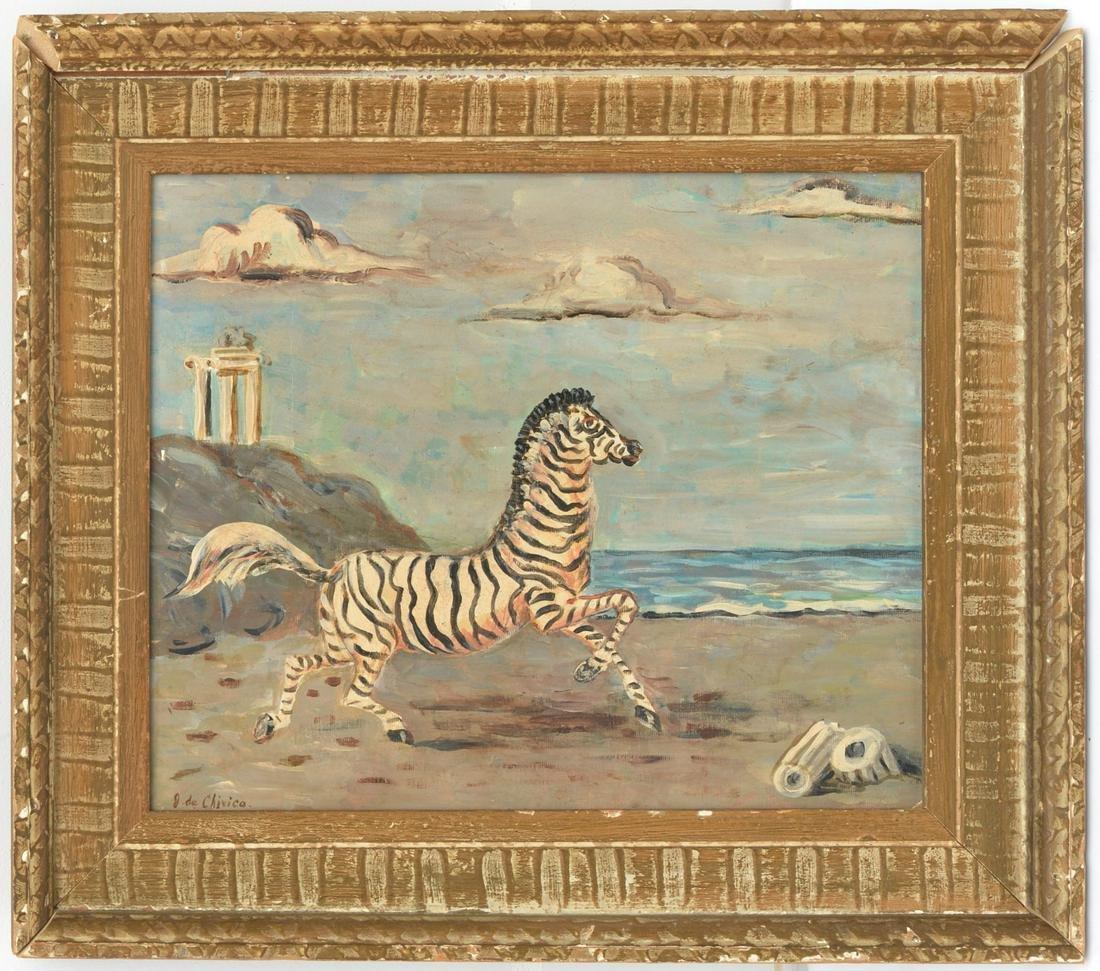 Giorgio de Chirico (after), painting