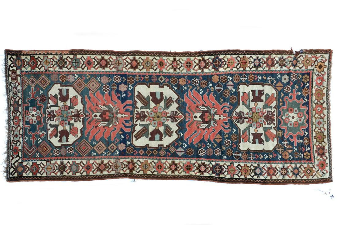 Old Caucasian Kabistan wool runner