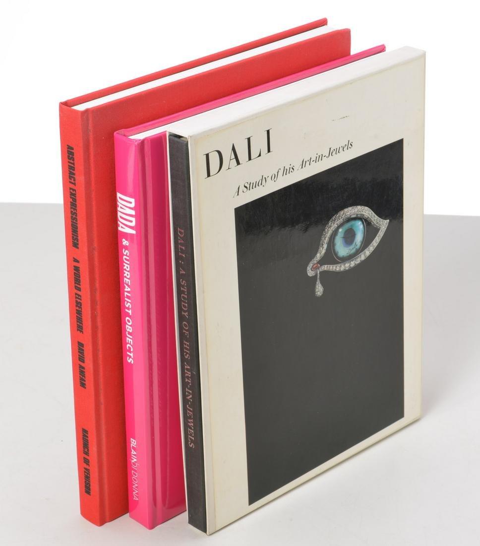BOOKS (3) Vols Dada, Dali, Abstract Expressionism